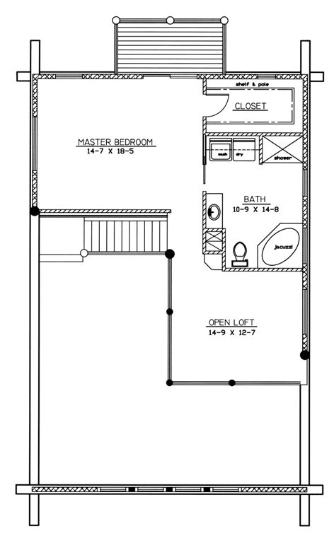 McLoughlin Second Floor Plan