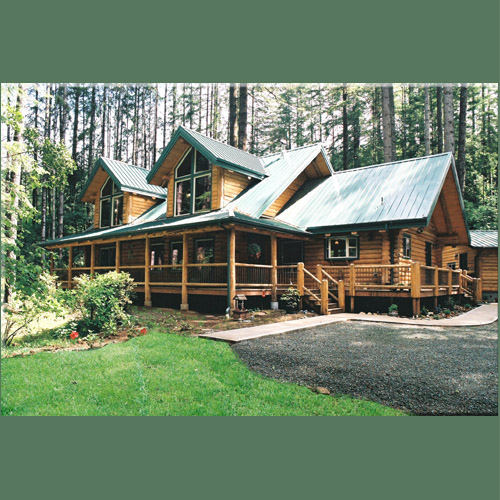 A wooded dream very pacific northwest home decor for Pnw home builders