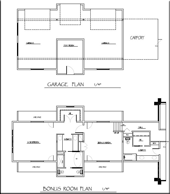 The Riverview garage floor plan