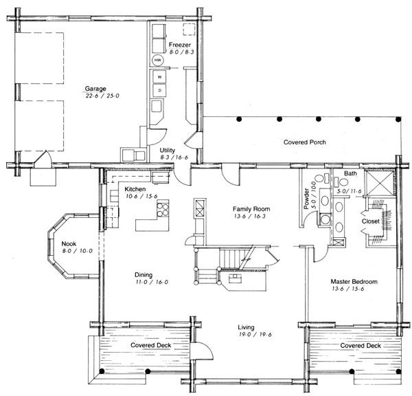 Valley View First Floor Plan