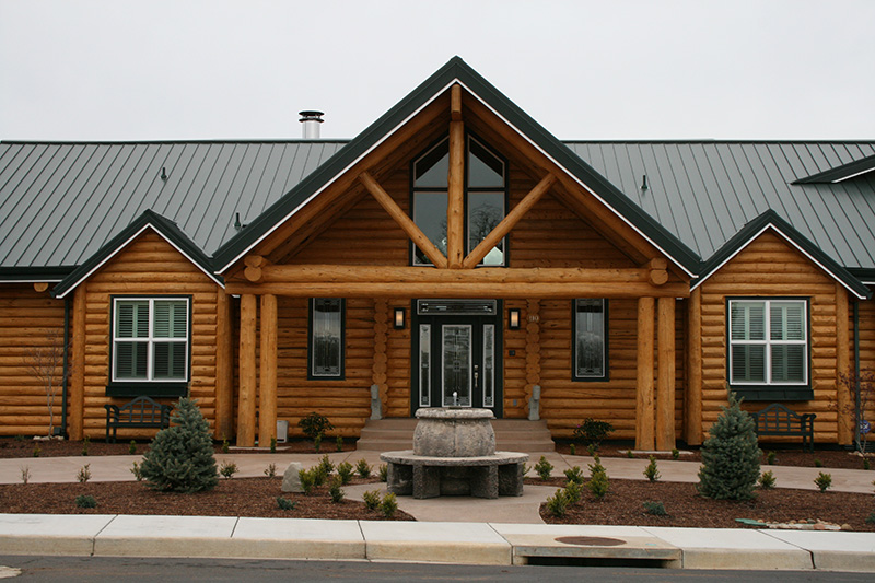 Log Accents Preassembled Log Homes And Cabins By