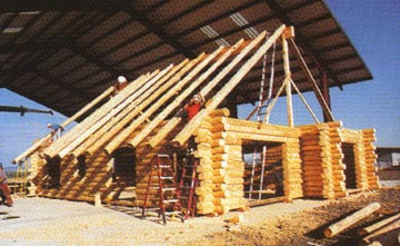 Log Home Packages From Homestead Log Homes
