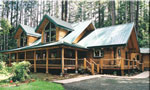 Pacific Log Home