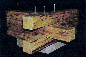 Cheap cabin kits preassembled log homes and cabins by for How to build a butt and pass log cabin