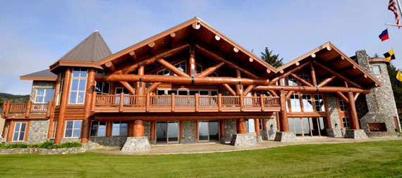 Log Homes and Log Cabin Kits and Designs by Homestead Log Homes Inc