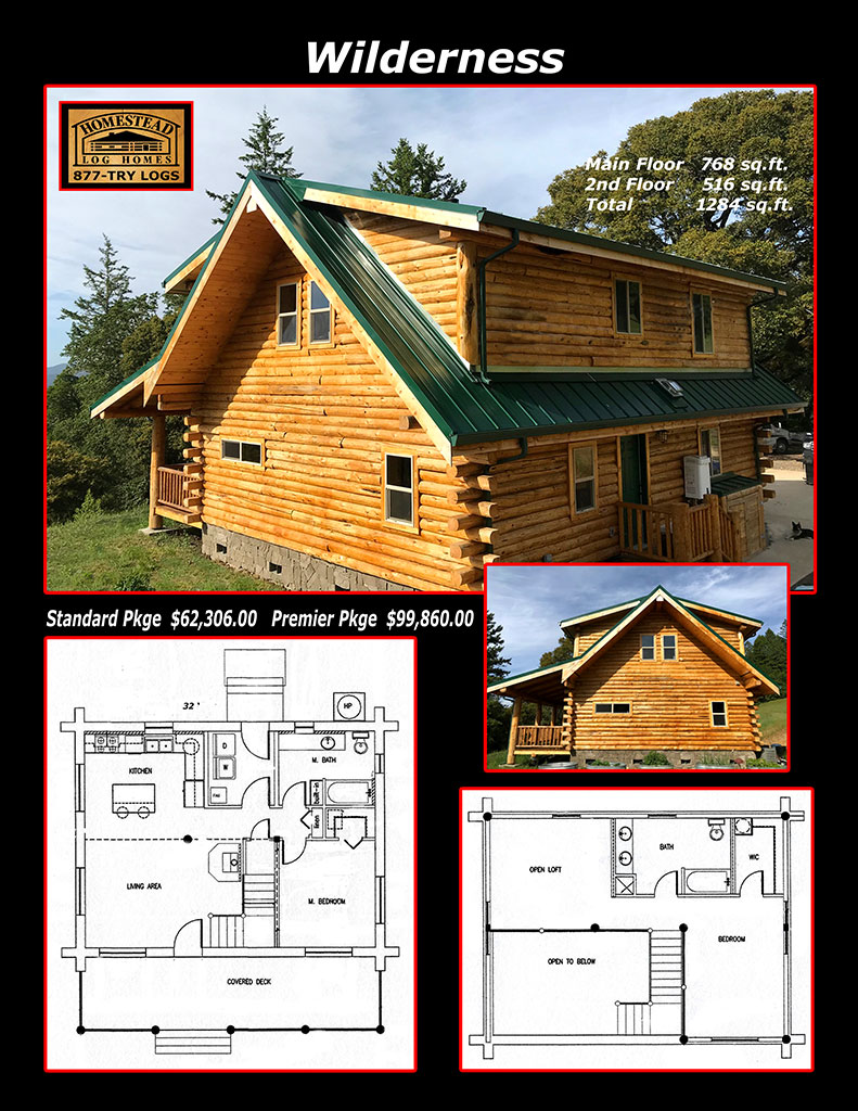 Cheap Cabin Kits | Preassembled Log Homes and Cabins by Homestead Log Homes,  Manufacturer and builder of preassembled log homes and supplies